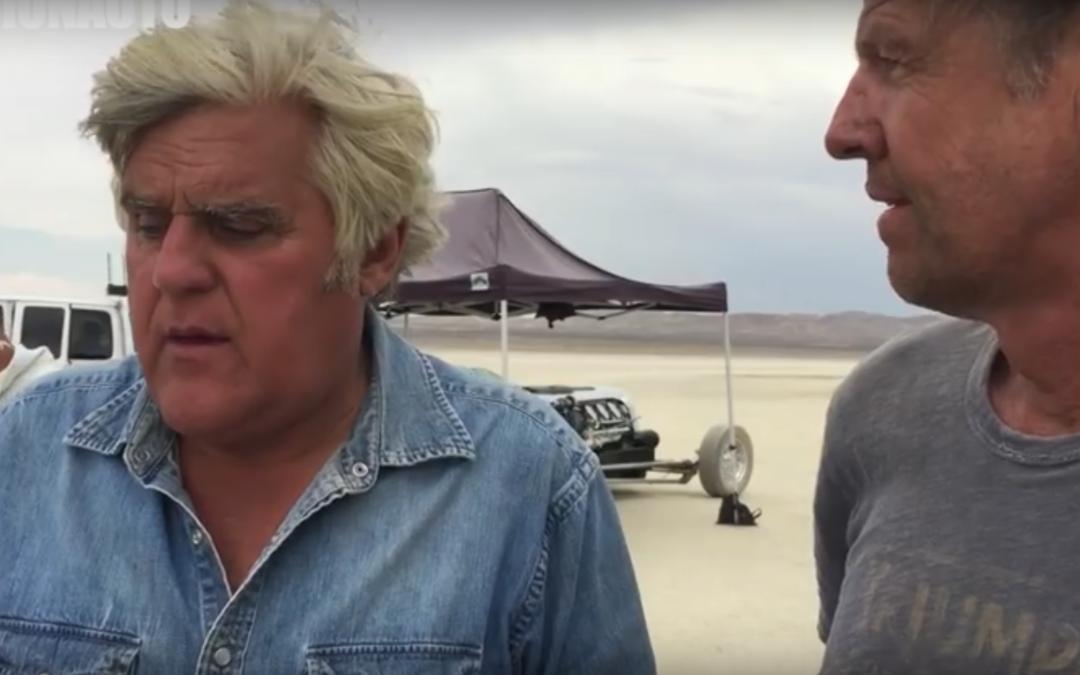Jay Leno at El Mirage Dry Lake Bed