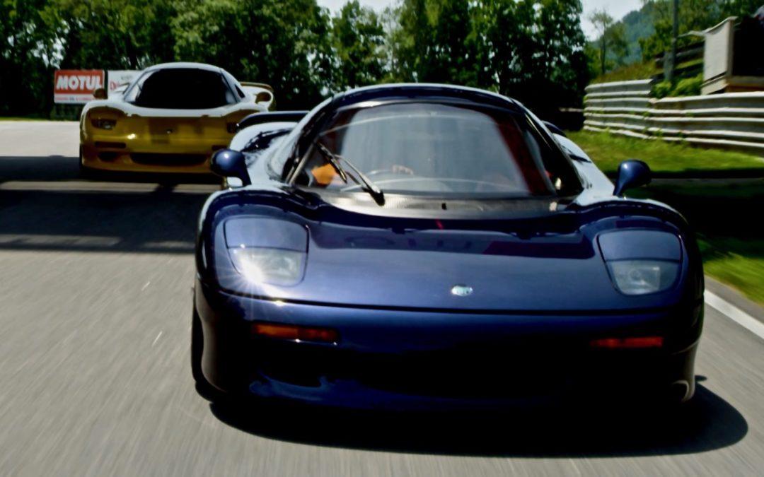 Jaguar XJR 15 at Lime Rock Park